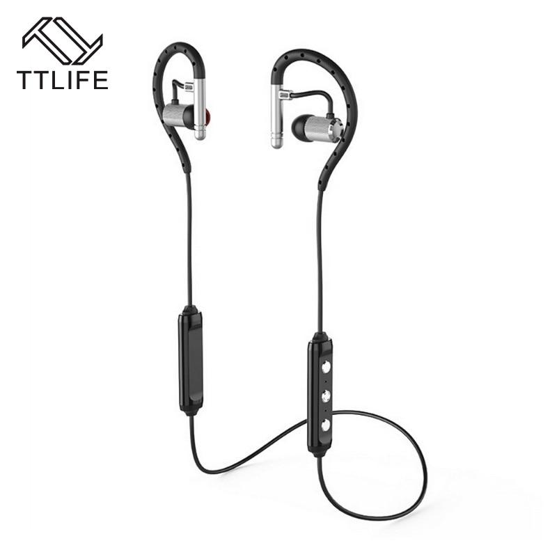 TTLIFE CSR Bluetooth 4.1 CVC6.0 IPX4 Waterproof Hands free Headset Wireless Headphone Bilateral Stereo Apt-x Earbud for iPhone<br><br>Aliexpress