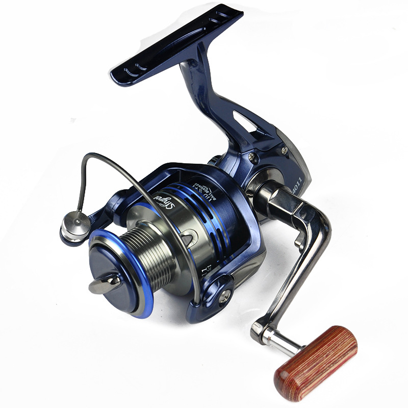 Spinning Fishing Reels 10BB+1 5.5:1 Metal Wire Cup Pesca Carretilha Para Molinete Peche Carretes De Pescar Molinete  Reel Tackle<br><br>Aliexpress