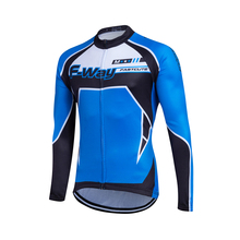 men cycling jersey 2017 men long sleeve MTB bike race wear design jersey shirt men sport clothing bicycle sportwear male tops