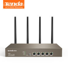 Tenda W20E Smart 1200Mbps Gigabit Wireless WiFi Router 11ac 2.4G/5GHz Wi-Fi Repeater for Office / Internet cafe / Enterprise(China)
