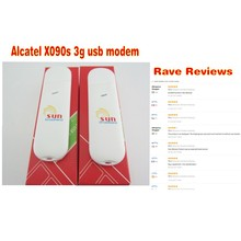 Lot of 10pcs Alcatel X090Ss be online all the time 3G internet key(China)