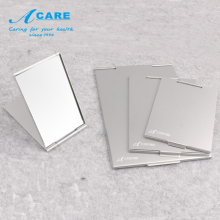 ACARE Makeup Mirror Portable Round Folded Compact Pocket Hand Mirror Making Up Mini/Small/Middle/Large Size