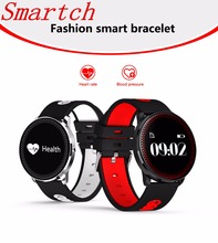 Buy Smartch CF007 Smart Fitness Bracelet Tracker Heart Rate Blood Pressure Monitor Passometer Smart Band Watch Wristband PK Mi Band for $23.14 in AliExpress store