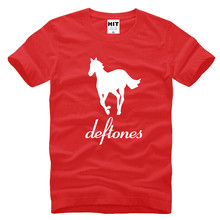 Deftones T Shirt Men New Printed Alternative Metal Rap T-shirt 2017 Summer Short Sleeve Cotton Rock Pop Tops