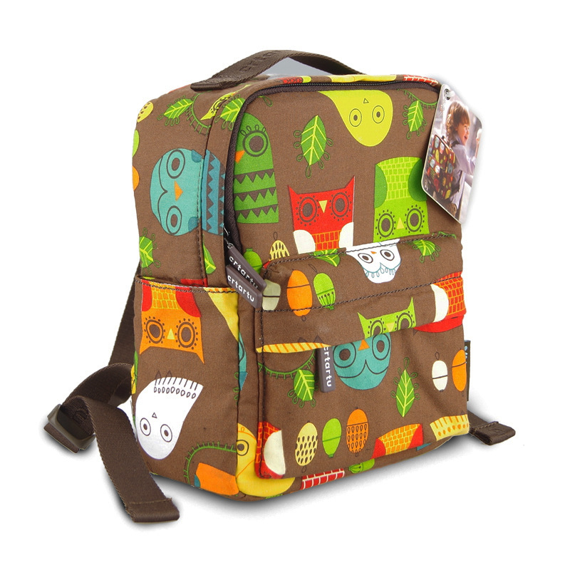 2017 cute owl baby girl school bags kid childrens backpack boys dot toddler shoulder bag mother daughter travel bag for age 1-4<br><br>Aliexpress