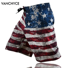 VANCHYCE Quick Dry Men's Board Shorts And Beach Shorts Men Swimwear Or Board Shorts Men Shorts Lighter Stretchier Dries Quicker(China)