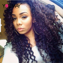250% Density Front Lace Wigs Brazilian Loose Curly Wave Lace Front Human Hair Wigs With Baby Hair Brazilian Hair Full Lace Wigs