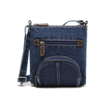 women messenger bags ladies mini small shoulder bag satchels girls crossbody summer sling vintage bag denim bolsos sac a main(China)