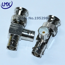 5PCS/LOT BNC CONNECTOR ADAPTOR H3202 BNC ONE MALE TO TWO FEMALE F TYPE ADAPTOR GOOD QUALITY(China)