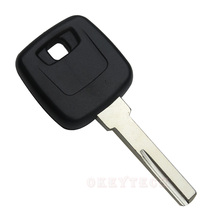 EKIY 1pcs/lot Replacement Key Shell Fit For VOLVO S40 V40 S60 S80 XC70 Original Copy Key Blank HU56R blade Car Key Case Cover