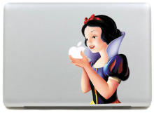 Snow White Vinyl Personality Decal laptop Sticker for mabook Pro air 13 inch/Protective notebook Skin for mac book(China)