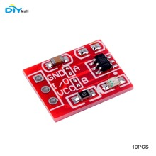 10Pcs/lot DIYmall TTP223 Capacitive Touch Switch Button Self-Lock Module for Arduino Trigger By DIY FZ2496