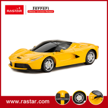 Rastar Licensed Ferrari 1:24 LaFerrari toys rc car auto control remoto rc carro 48900(China)