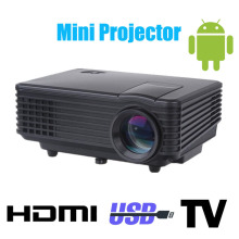 DHL free shipping high cost effective mini portable pico led projector support 1080p beamer for home theater proyector use