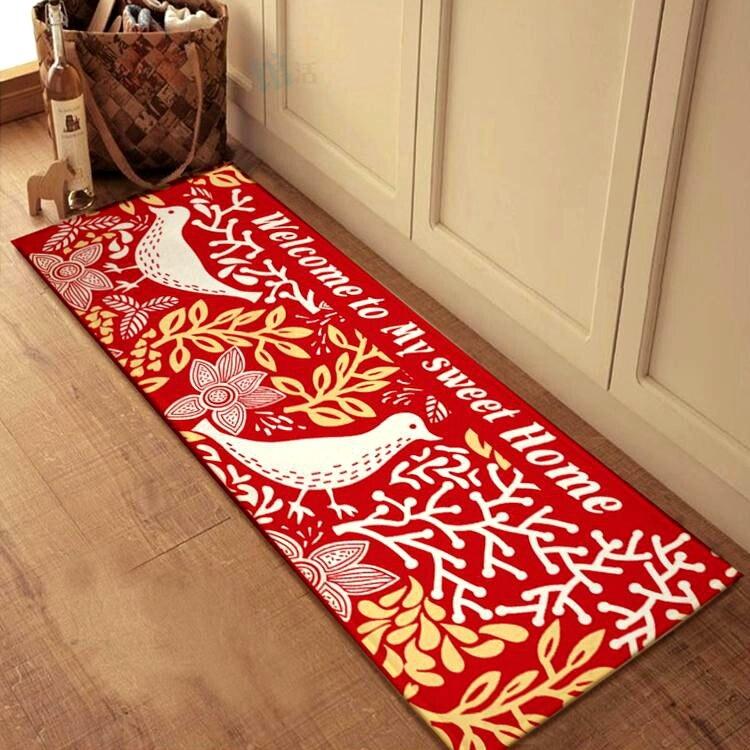 Merveilleux Nature Bird Thick Kitchen Mats Anti Slip Mats Toilet Doormat