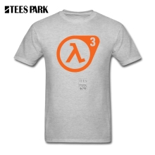 Design Tee Shirt Half-Life 3 Confirmed Homem Man Natural Cotton Short Sleeve T Shirts High Quality Men's Geek T Shirts Tops(China)