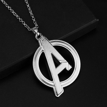 Buy MQCHUN Statement Necklace Fashion Marvel Avengers Chain Necklace Super Hero Pendant Vintage Metal Necklace Movie Jewelry for $1.57 in AliExpress store