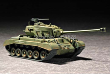 TRUMPETER  07299  1/72  US M26E2 Pershing Heavy Tank  Assembly Model kits scale model  3D puzzle vehicle model