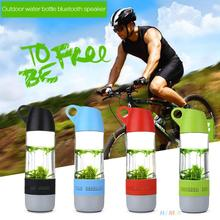 Water Bottle Design Mini Bluetooth Speaker Cups Compass Wireless Speaker Outdoor Sound Stereo Music Player Higher Quality
