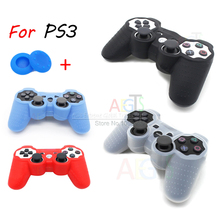 For PS3 Controller Case Grips Cover Skin for Sony Playstation 3 PS 3 PS3 Dualshock 3 Case Joystick Silicone Case Accessory