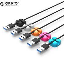 ORICO CBSX Wire Organizer Desktop Clips Cord Cable Winder Management Headphone Cord Holder For iPhone Charging Data Line
