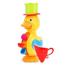 New Arrival Children Faucet Bath Toy Baby Bath Duck Toys In Bathroom Kids Water Spraying Tool Gift For Boys Girls Baby(China)