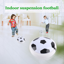 Toy Ball Indoor Suspended Football Colorful Light Electric Play Game Children Field Lighting Air Soccer Sports Toys Gift(China)