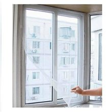 High quality free shipping DIY Door Window Net Mesh Screen Insect Fly Bug Mosquito Curtain Protector Flyscreen