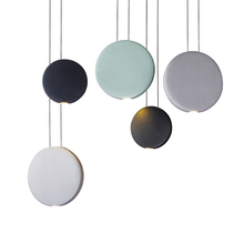 Post-modern Art Gox resin Restaurant pendant lamp Nordic Simple Dining Table Bedside Bed Three Round Bar Cosmos Pendant Lights