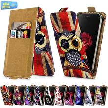 For ZTE Blade S6 Lite S6 L3 Plus X7 L370 V5 Universal High Quality Printed Flip PU Leather Cell Phones Case Cover Middle Size