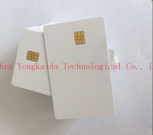 1000pcs blank Original SLE5528 white PVC card contact IC card(China)