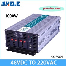 MKP1000-482 48v to 220vac power inverter 1000w off grid inverter pure sine wave voltage converter,solar inverter LED Display