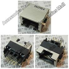 Free Shipping Laptop RJ45 Jack/Network interface cards/Ethernet port/LAN Port with light for Lenovo G570 G570A B550 IBM X300