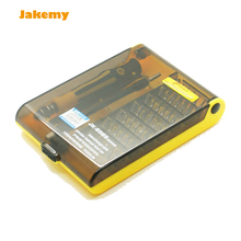 Professional 45 in 1 JK 6089 B Hardware Screw Driver Tool Kit Precise Screwdriver Set HQ mobile phone repair tool and Notebook(China)