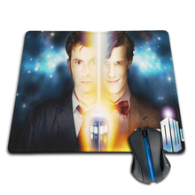 Pattern DIY Custom Made Funny Police Box Doctor Who David Tennant Mouse Pad For Laptop/Desktop Computer Mouse Mat