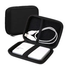 Hot Sale Fashion Portable Zipper External 2.5 inch HDD Bag Case Pouch for Protection Standard 2.5'' GPS Hard Disk Drive Device