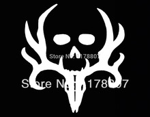 Bone Collector Deer Hunting Gun Car Sticker Truck SUV Bumper Auto Door Laptop Kayak Canoe Vinyl Decal 8 Colors(China)
