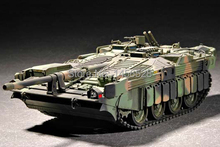 TRUMPETER 07298 1/72 Swedish Strv 103C MBT Assembly Model kits scale model 3D puzzle vehicle model(China)