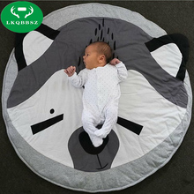 Cartoon baby crawling pad cartton fast housing bag child play game mat Toys For Kids Rugs Baby Play Mats Baby Toys Mat for Child(China)