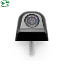 GreenYi 3 Glass Lens Rotation HD Parking Camera Front Side Rear View Camera For LCD TFT Parking Monitor Can Change Parking Line(China)