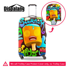 Brand 3D Fashion Elastic Travel Luggage Cover Cartoon Stretch Protect Suitcase Cover Apply to 18-30 Inch Case Travel Accessories