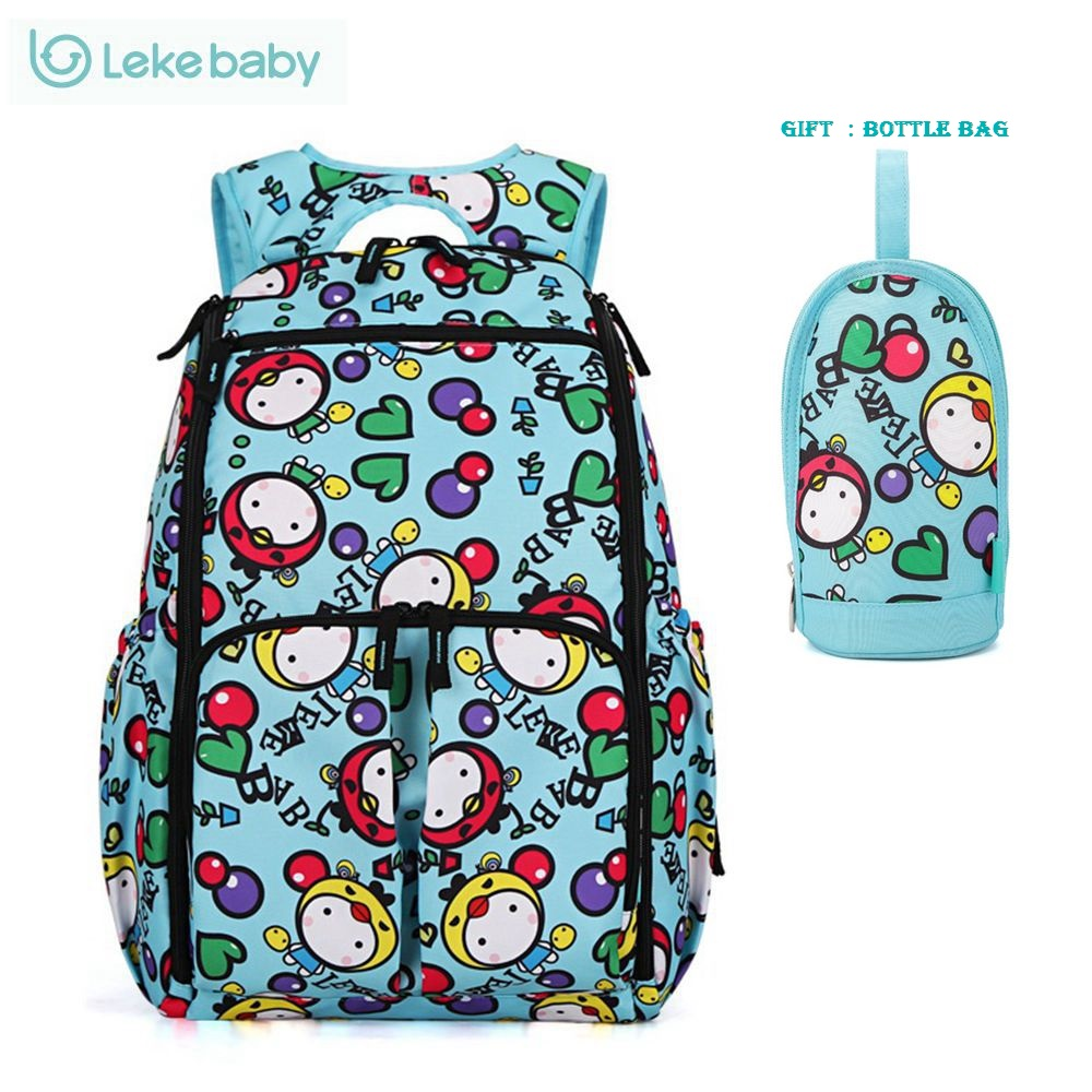 Fashion Printing Backpack baby Stroller Bag Large Changing Diaper Bag Organizer Nappy Bags Maternity Bags Baby Diaper Backpack <br>