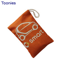 Bamboo Activated Carbon Car Air Freshener Bag Car Remove Smell Car Flavor Smart Fortwo Auto Cars Air Fresh Interior Accessories(China)