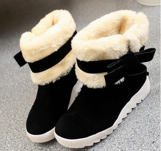 2017 winter women boots in Europe and the knight boots but knee boots female low with snow boots women shoes<br><br>Aliexpress
