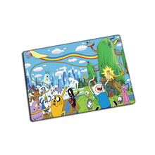 Adventure Time mouse pad  cheapest game pad to mouse notebook computer mouse mat brand gaming mousepad gamer laptop