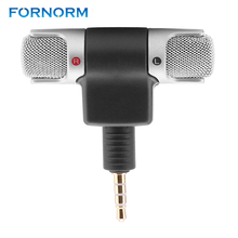 FORNORM 3.5mm Jack Portable Mini Portable Digital Stereo Microphone Recorder for Sony MIC-DS70P Computer Sing Song Karaoke(China)