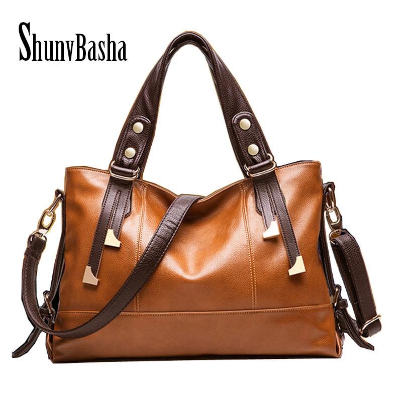 Women leather handbag 2017  tote crossbody bags women leather handbags Shoulder Big Bag Women Messenger Bag<br><br>Aliexpress
