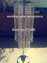 tall crystal table top chandelier centerpieces for weddings table  decoration
