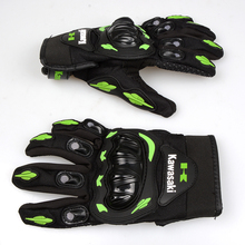 FOR Motorcycle Gloves Women Man Full Finger Motor Bike Gloves Motocross Guanti Moto For Kawasaki Ninja Energy Monster Monster En