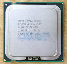 E5400 Desktop computer processor intel used cpu dual core 2 Duo Cpu 2.7GHz 2MB/800MHz LGA 775 scrattered pieces